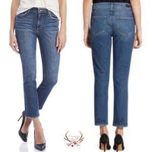 Paige Cropped Jacqueline Life Good Jeans NWT
